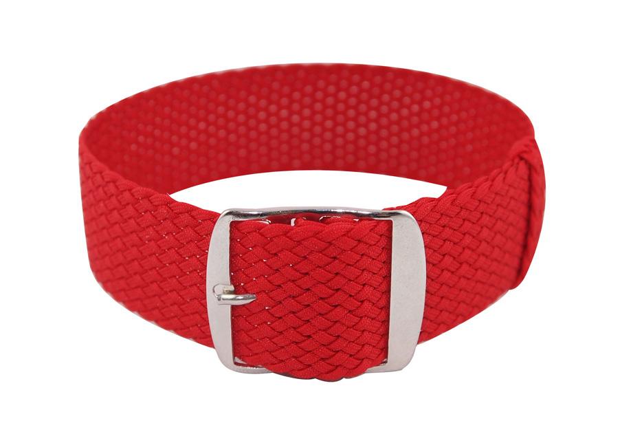 perlon strap red
